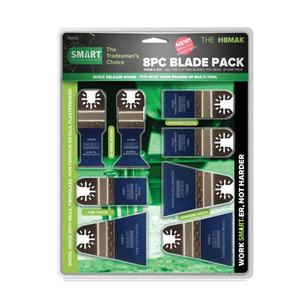 Smart H8MAK 8 Piece Assorted Blade Set
