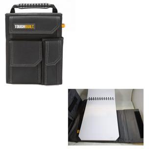 TOUGHBUILT TOU-56-L-C TB-56-L-C Organizer & Grid Notebook Large, Black, Organizer + Grid L