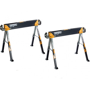 ToughBuilt TOU-C700/2 Saw Horse / Adjustable Jobsite Table - Twin Pack