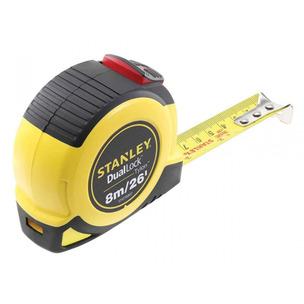 Stanley STA036807 8m/26ft Dual Lock Tylon Pocket Tape (8m x 25mm)