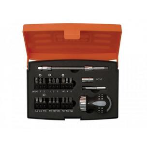 Bahco 808050S22 22 Piece Stubby Ratchet Screwdriver Set
