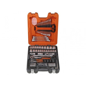 """Bahco S106  106 Piece Socket Set (1/4"""" and 1/2"""" Drive)"""