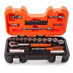 "Bahco S330 33 Piece Socket Set (1/4"" & 3/8"" Drive)"