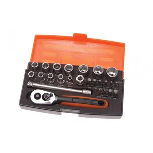 "Bahco SL25 25 Piece Socket Set (1/4"" Drive)"