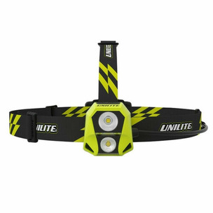 Unilite HL-6R Dual Powered LED Rechargeable Head Torch 450 Lumens