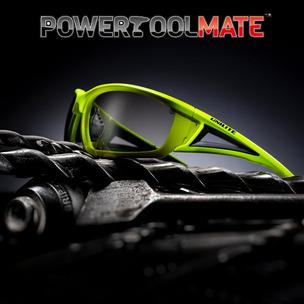 Unilite SG-YIO Hi-Viz Yellow Safety Glasses (Indoor/Outdoor)