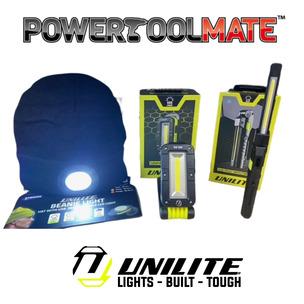 UNILITE Winter Special 3 Piece Bundle - SLR-500 Folding Worklight, IL-175R + Beanie Light