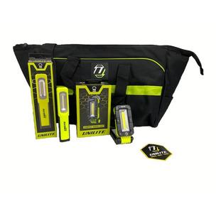 Unilite Premium 3 Piece Bundle (SLR-500, PS-i2R & PS-HL plus FREE Bag)