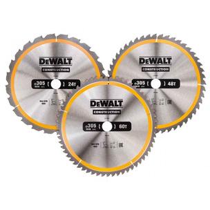 DeWalt DT1964 305mm 24/48/60T Series 30 Circular Saw Blade 3pk