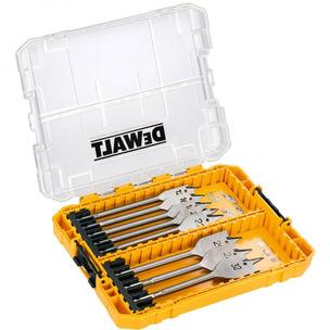 DeWalt DT70750 8 Piece Flat Wood Spade Bit Set + Tough Case (12mm - 32mm)