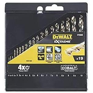 DeWalt DT5936-QZ HSS Cobalt Drill Set 1.5 – 10mm In Storage Case
