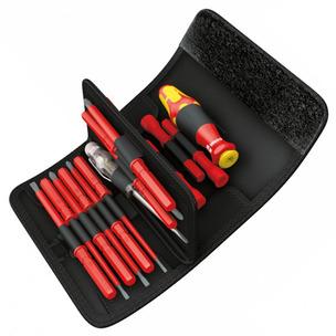 Wera 003471 18 Piece Kraftform Kompakt Interchangable VDE Screwdriver Set