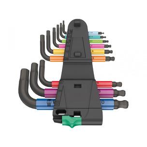 Wera 133164 9 Piece Hex-Plus Metric Multicolour 2 L-Key Set