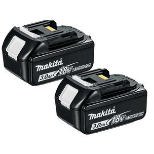 Makita BL1830 18V LXT 3.0Ah Li-Ion Batteries (Twin Pack)