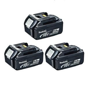 Makita BL1850 18V  LXT 5.0Ah Li-ion Batteries (Triple Pack)
