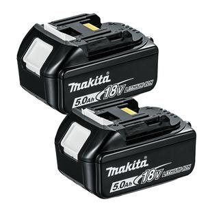 Makita BL1850 18V LXT 5.0Ah Li-Ion Batteries (Twin Pack)