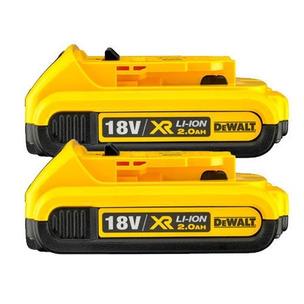 DeWalt DCB183 18V XR 2.0Ah Li-Ion Batteries (Twin Pack)