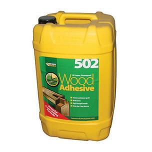 Everbuild 502 All Purpose Weatherproof Wood Adhesive - 25L