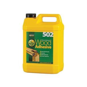 Everbuild 502 All Purpose Waterproof Wood Adhesive 5L