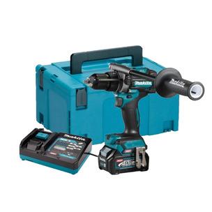 Makita HP001GD102 40V Max 2.5Ah XGT BL Combi Drill Makpac Kit