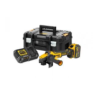 DeWalt DCG409T1 18v 1x6Ah 125mm XR Flexvolt Advantage High Power Grinder Kit