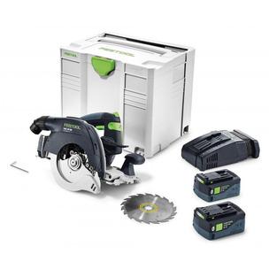 Festool HKC55LiEBI-Plus-SCAGB 18v 2x5.2Ah Bluetooth Li-ion Circular Saw Systainer Kit