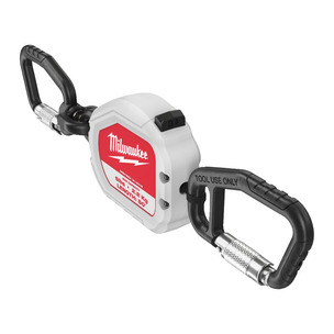 MILWAUKEE 2.2KG RETRACTABLE TOOL LANYARD QUICK-CONNECT