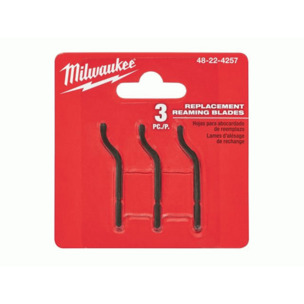 Milwaukee 48224257 Reaming Pen Replacement Blades (Pack of 3)