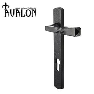 AV/LEVER92 Avalon Barley Twist Narrow Plate Lever