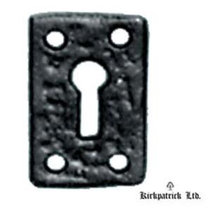 1502M Kirkpatrick Non-Covered Escutcheon Plate