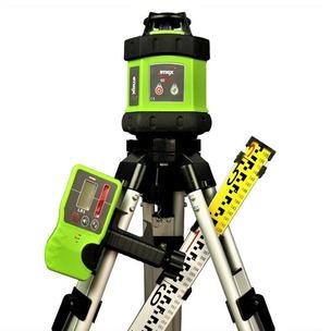 Imex E60 Mini Rotating Laser Kit Leveller Receiver Tripod 2m Staff Waterproof