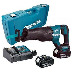 Makita DJR187RTE 18v LXT Brushless Reciprocating Sabre Saw - 2 x 5.0ah Batteries