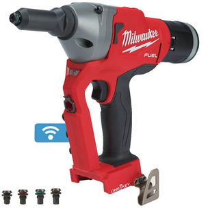Milwaukee M18ONEFPRT-0X 18v Fuel Cordless Riveter Bluetooth Bare Unit In Case