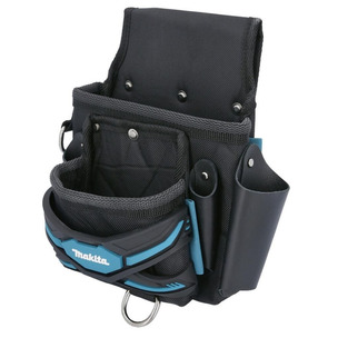Makita E-05131 2 Pocket Fixings Nail Screw Tool Belt Pouch Holder Strap System