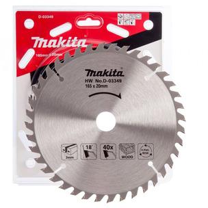 Makita D-03349 Circular Saw Blade 165 X 20 40 Teeth - Suits DSS611 DSS610 DHS680