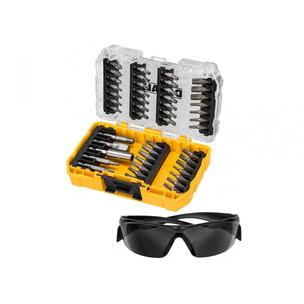 DeWalt DT70704 47pc Screwdriver Bit Set with Safety Glasses in Tough Case