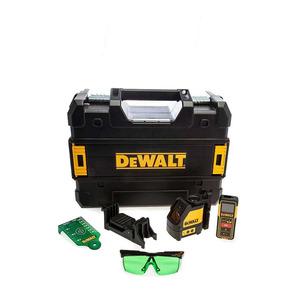 DeWalt DW0889CG Self Levelling Green Line Laser and DW088CG 100 ft Distance Measurer Set