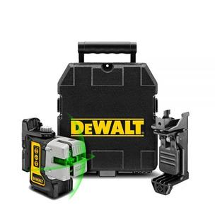 DeWalt DW089CG 3-Way Self-Levelling Cordless IP54 Multi Line Green Laser Level with Case