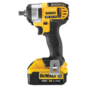 "Dewalt DCF880M2 18V XR Li-Ion 1/2"" Compact Impact Wrench - 2 x 4.0ah Batteries"