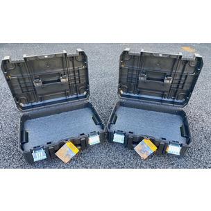 DeWalt DWST1-70703 T-Stak II Case Twin Pack Complete With 50mm Shadow Foam (One per box)