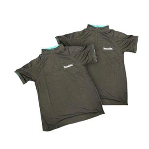 Genuine Makita Black Logo Mesh T-Shirt Twin Pack Large Size