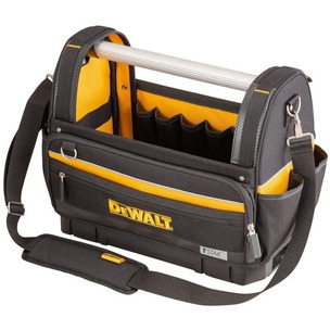 "Dewalt  DWST82990-1 Tstak Bottom Large Pro Open Mouth Tote Bag 18"" Hand Power Tool Toolbag"