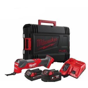 Milwaukee M18FMT-522X 18V 1x5Ah 1x2Ah Brushless Oscillating Multi Tool Kit
