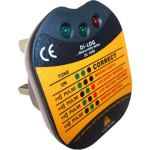 Di-LOG DL1090 Socket Test C/W Audible Buzzer