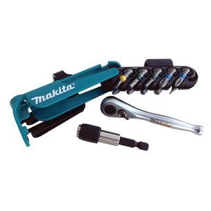 Makita P-79142 12 Piece 1/4in Ratchet and Screwdriver Set