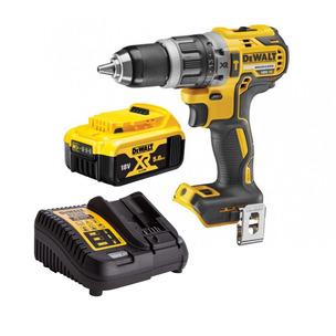 DeWalt DCD796N 18V XR Brushless  Combi Drill, DCB184 5.0Ah Battery & Charger
