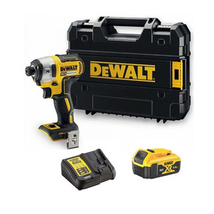 DeWalt DCF887P1 Cordless 18V Brushless Impact Driver With 5Ah Battery, Charger And Case