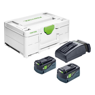 Festool SYS3ENG18V2x5,2/TCL6 2x5.2Ah Battery TCL6 Charger Energy Set