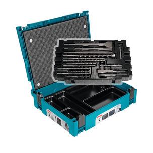 MAKITA B-52059 SDS+ PLUS CHISEL & BIT SET 17 PCS IN MAKPAC CASE