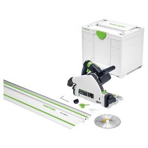 Festool 577012 TS55FEBQ-Plus-FS240V 240V 160mm Circular/Plunge Saw Guide Rail Set